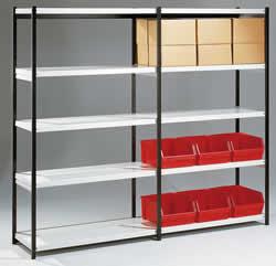 b roregale stahlregale regal stecksysteme b cherregale. Black Bedroom Furniture Sets. Home Design Ideas