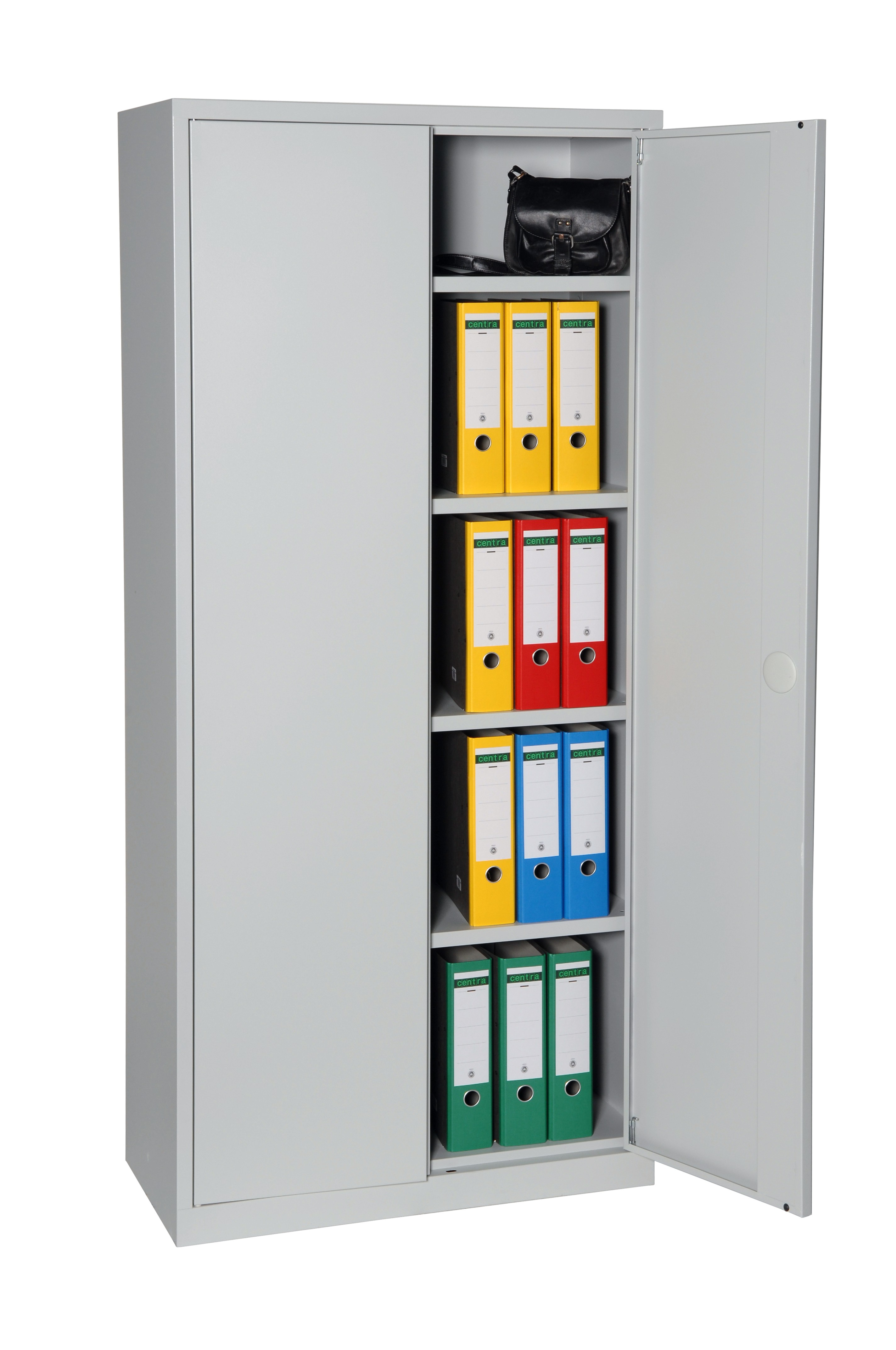 B roschrank metall ordnerschrank luna80 for Schrank verschluss