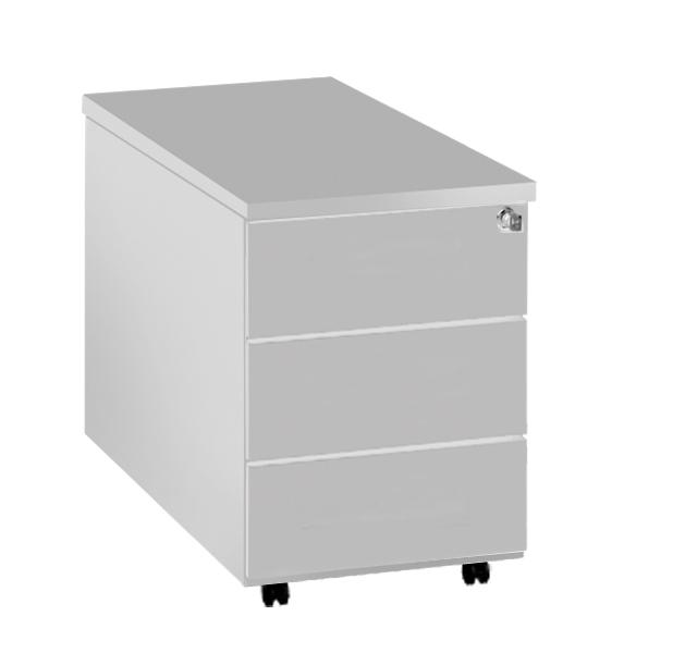 b ro rollcontainer holz mit metallschubladen. Black Bedroom Furniture Sets. Home Design Ideas