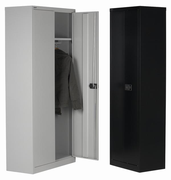 b rokleiderschrank b roschrank mit garderobe. Black Bedroom Furniture Sets. Home Design Ideas