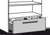 Schublade für Hängeregistratur Modell DAO & DAM