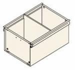 Trennplatten für Rollcontainer Registraturschubladen