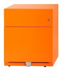 Metallrollcontainer 1 Schublade +1 Hängeregistraturschublade