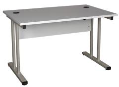Schreibtisch mit Sichtblende Modell Styx 3000