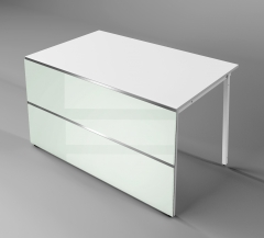 Tischthekenelement mit 2 geraden Seite AT-4