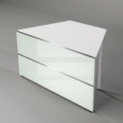 Tischelement mit 2 schrägen Seiten AT-6