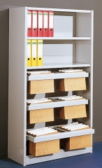 Büroregal PR5R Grundfeld 2250x750mm(HxB)