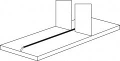 Trennsteg für für 600 mm tiefe Fachböden - PR5 Regale