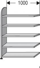 Ordnerregal - Büroregal ,,DAO,, 1000mm breit