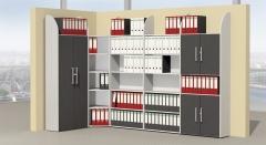 Vorbautüren 2 Ordnerhöhen für Modell DAO & DAM