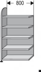 Büroregal ,,DAM,, 800 mm breit