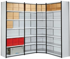 Magazinregale Modell ST Eckregal 370+Tiefe