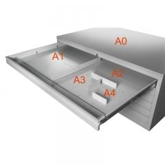 Fachteiler für Planschrank Modell Rossi DIN A0 und A1