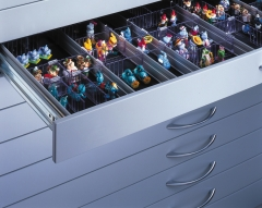 Schubladen-Einteilungen Exklusiv für Modell Taff DIN A1
