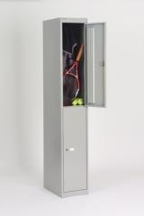 Spindschrank mit zwei Türen