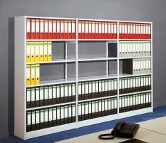 Komplettes Büroregal 225x96x30 PR5 ohne Rückwand