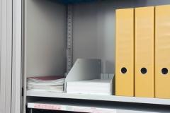 Trennplatten für Fachboden mit Schlitze