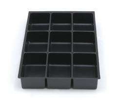 9 Fächer DIN A4 51 mm hoch